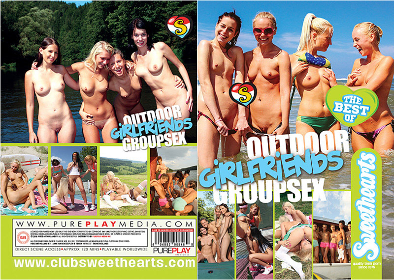 Outdoor Girlfriends Group Sex: The Best of