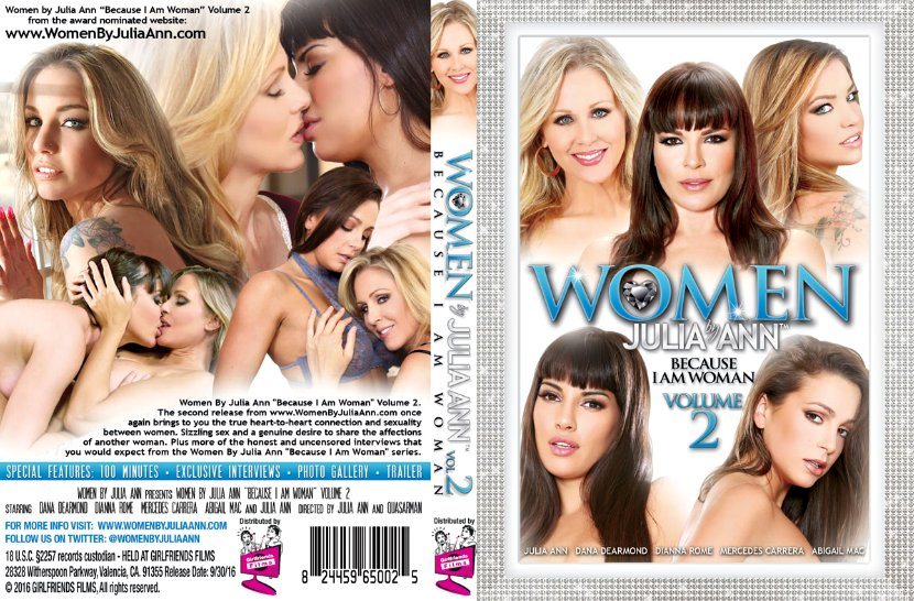Women by Julia Ann Vol. 2 - Because I Am Woman
