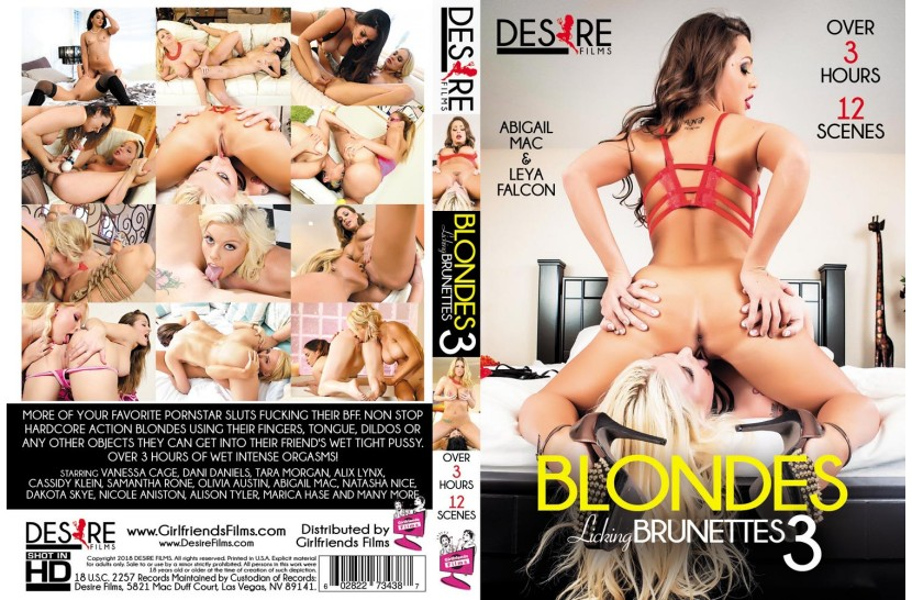 Desire Presents: Blondes Licking Brunettes 3