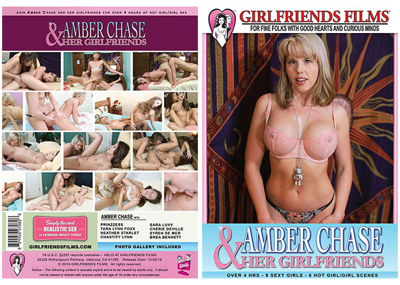 Amber Chase and her Girlfriends
