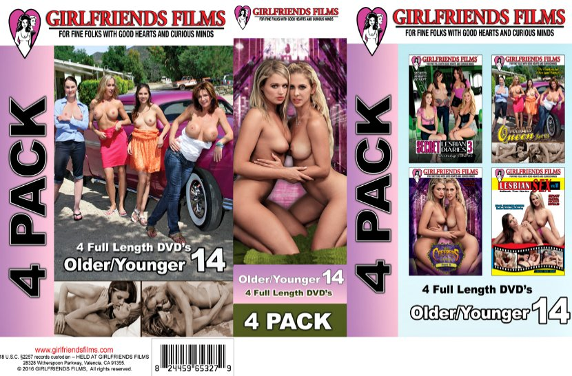 Girlfriends Films Older Younger 4-Pack # 14 (4 Disc Set)